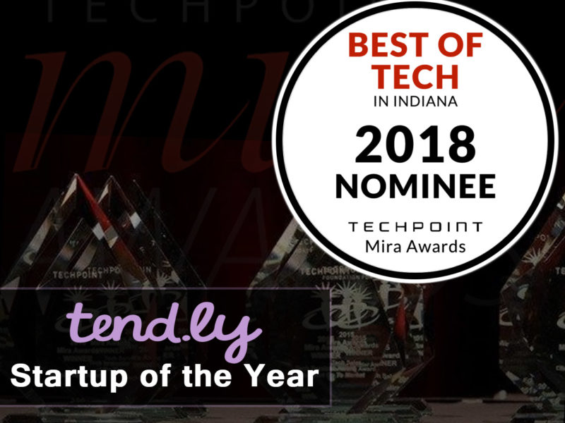 2018 MIRA Award Nominee - tend.ly Startup of the Year