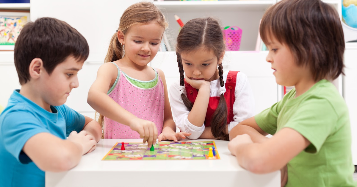 indoor activities for kids board games